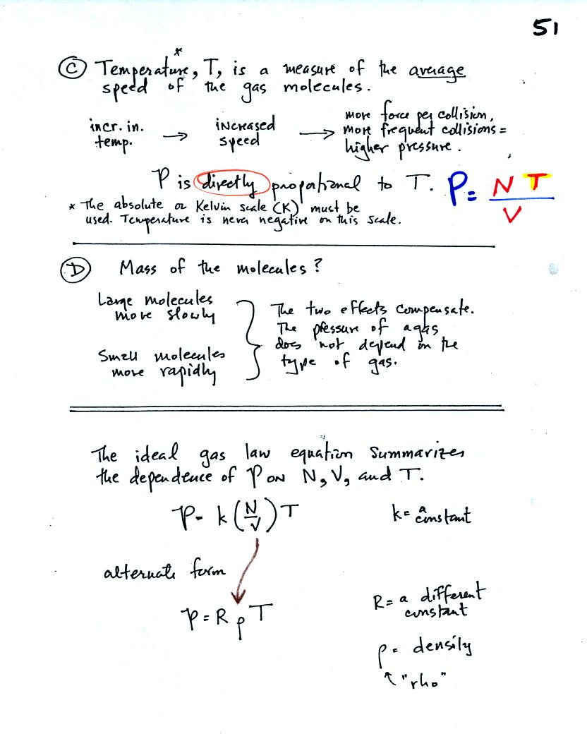Gas Law Equations - Talkchannels