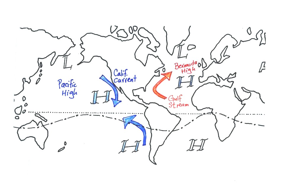 pacific ocean currents names - photo #41
