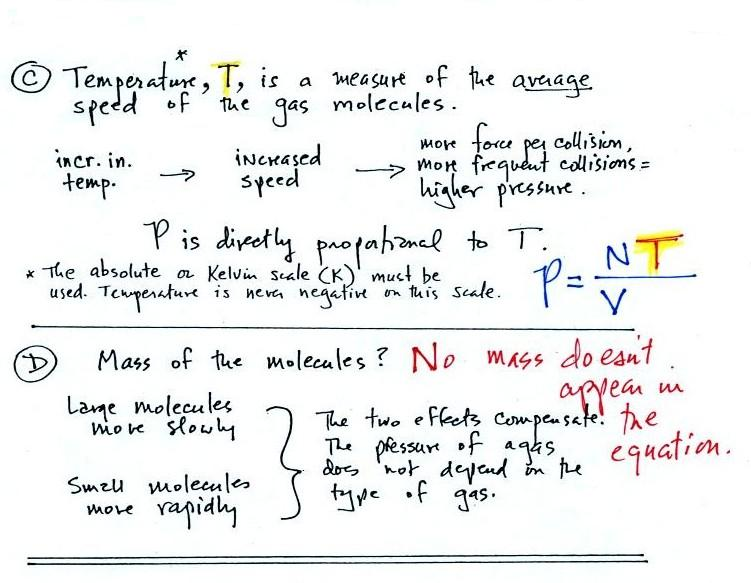 Lecture 6 - Ideal gas law, rising and sinking air