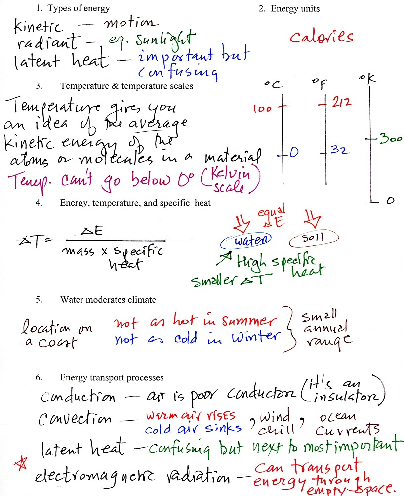 Tue Oct 4 Notes Radiation Heat Transfer Diagram Images Pictures Becuo Here Are Scanned Of The Lecture Outline Or Summary Sheet With Some Main Details Filled In
