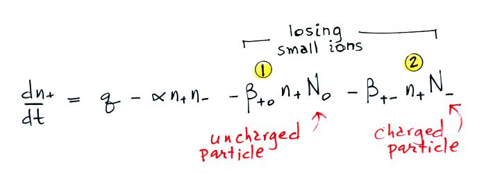 Lecture 10 - Small ion to particle attachment